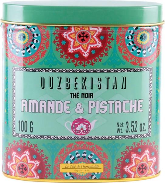Schwarzer Tee Mandel Pistazie 100g